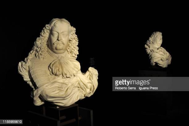 Italian sculptor and artist Gian Lorenzo Bernini works at the Museo della Pilotta of the Complesso Monumentale della Pilotta on June 14 2019 in Parma...