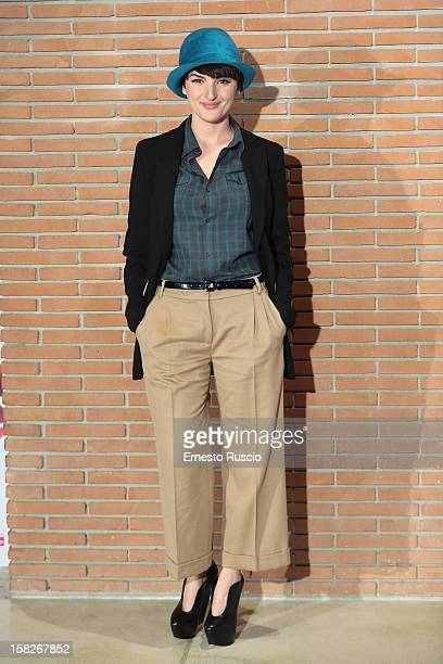 Italian singer Arisa attends the 'Colpi di Fulmine' photocall at Auditorium Parco Della Musica on December 12 2012 in Rome Italy