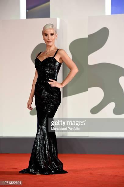 Italian singer Baby K at the 77 Venice International Film Festival 2020. Revange room red carpet. Venice , september 7th, 2020