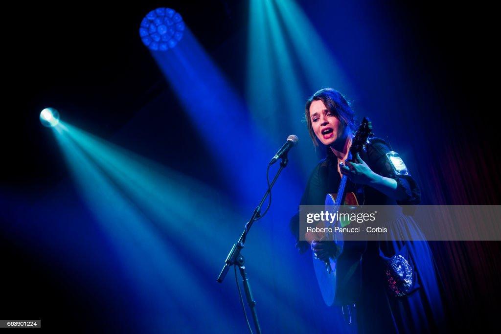 Carmen Consoli Performs In Lecce : News Photo