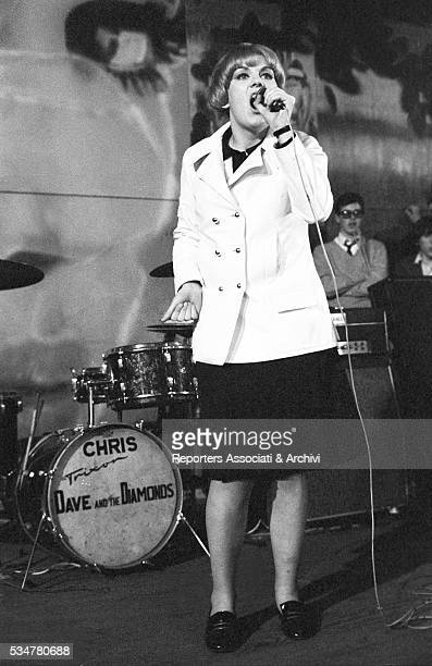 Italian singer Caterina Caselli holding a concert in the Piper Club Rome 5th March 1966