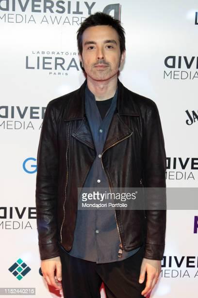 Italian singer Diodato during the Awards ceremony for the Diversity Media Awards 2019 a human rapsody at Alcatraz Milan May 28th 2019