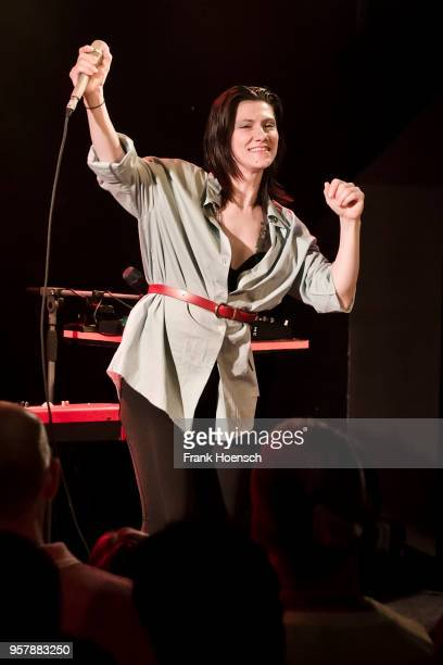 Italian singer Elisa Toffoli performs live on stage during a concert at the Frannz on May 10 2018 in Berlin Germany