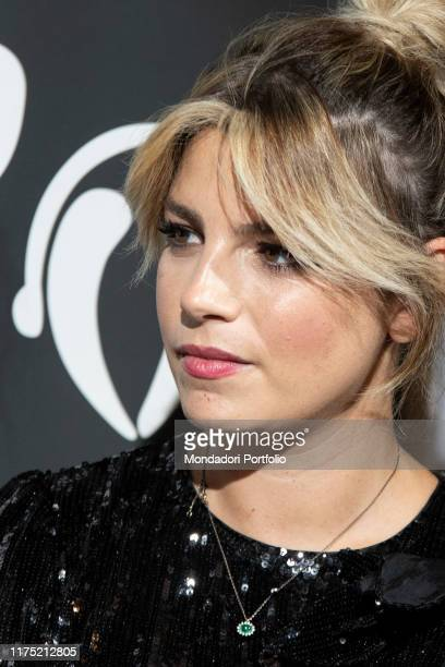 Italian singer Emma Marrone guest on the third day of Il Tempo delle Donne at Milan Triennale Milan September 14th 2019