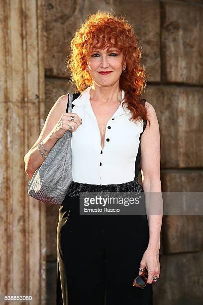 Italian singer Fiorella Mannoia attends the Ciak D'Oro 2016 awards at Cinecitta on June 8 2016 in Rome Italy
