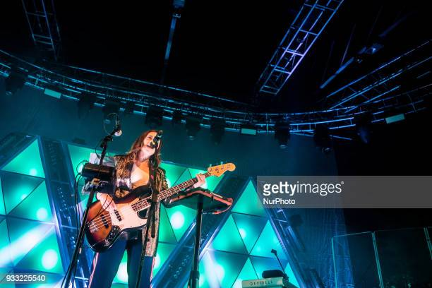 Italian singer Francesca Michielin performs live at Fabrique in Milan Italy on 17 March 2018
