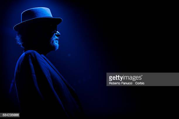 Italian singer Francesco De Gregori performs in concert at Atlantico Live Club on March 05 2016 in Rome Italy