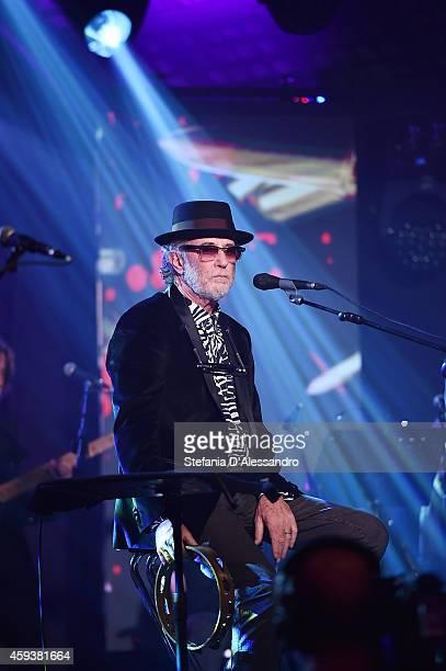 Italian singer Francesco De Gregori performs live at RadioItaliaLive held at Radio Italia Studios on November 21 2014 in Milan Italy
