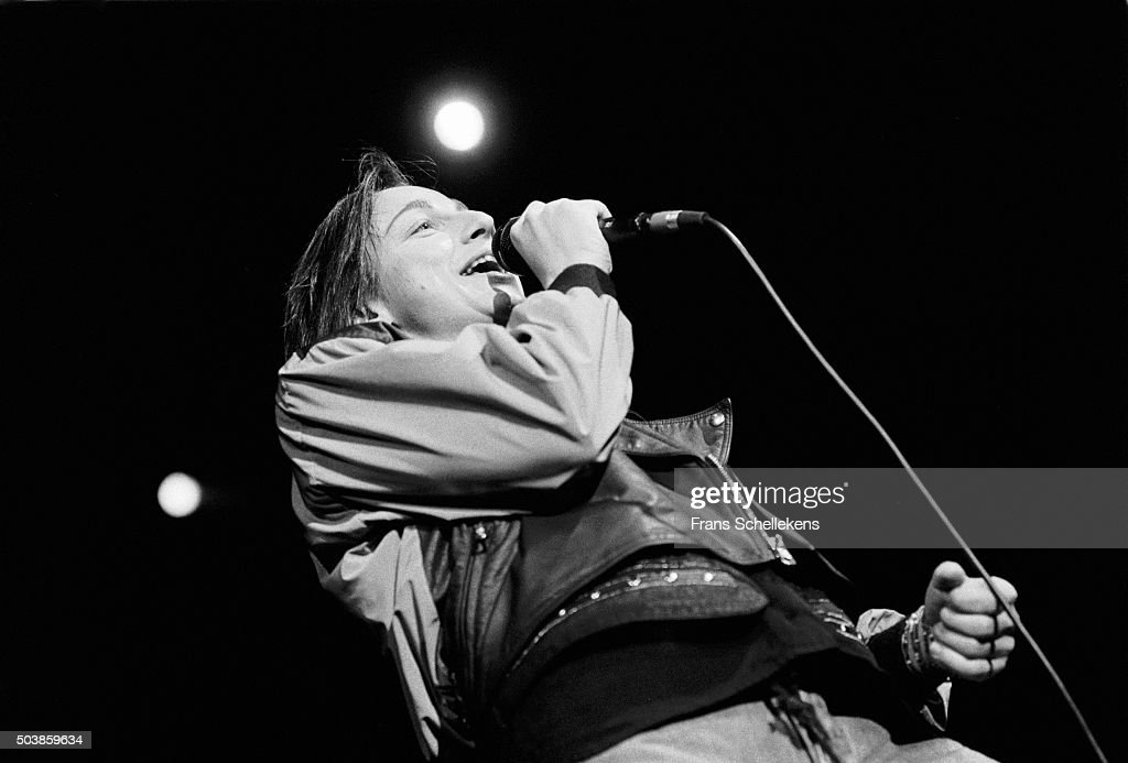 Italian singer Gianna Nannini performs at Carre on November 26th 1990 in Amsterdam, the Netherlands.