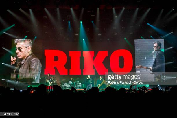 Italian singer Luciano Ligabue performs in concert at PalaMaggiò on march 03 2017 in Caserta Italy