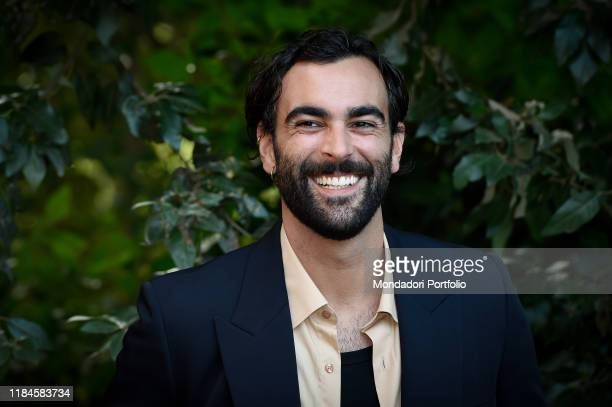 Italian singer Marco Mengoni during Klaus photocall, the first Netflix animated film. Rome , October 30th, 2019