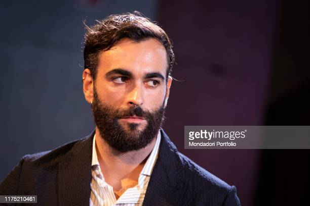 Italian singer Marco Mengoni guest at the evening opening party of Il Tempo delle Donne at Milan Triennale. Milan , September 13th, 2019