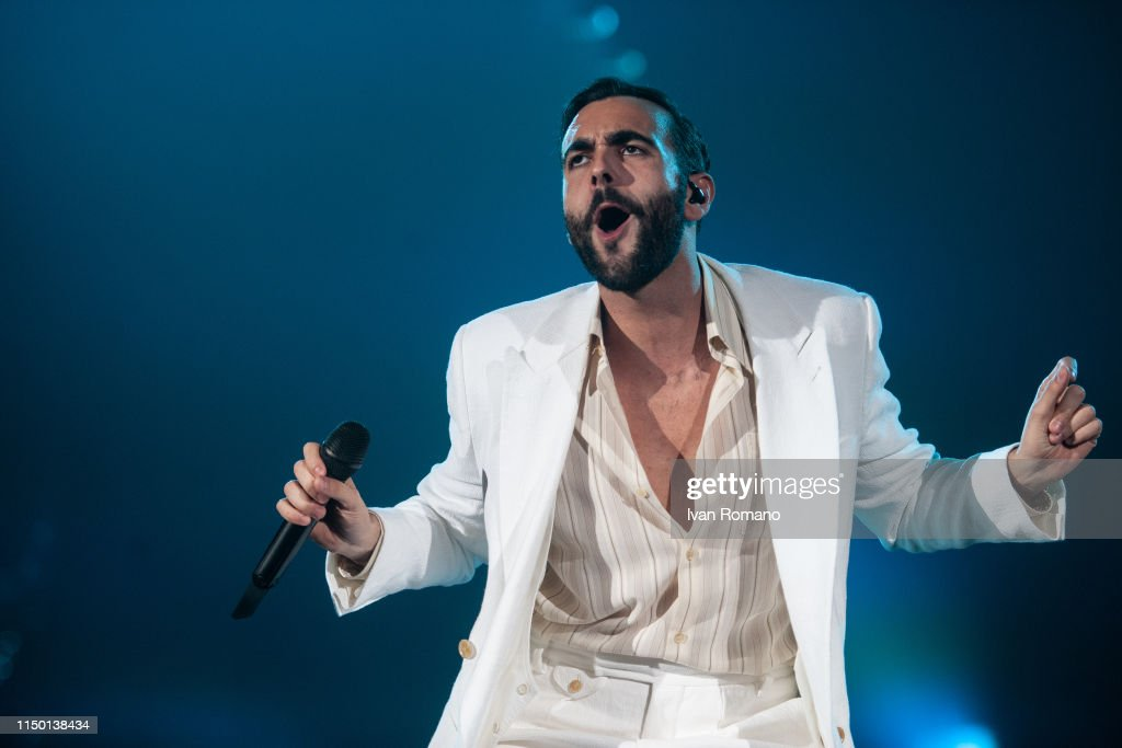 ITA: Marco Mengoni Performs at the Palasele in Eboli