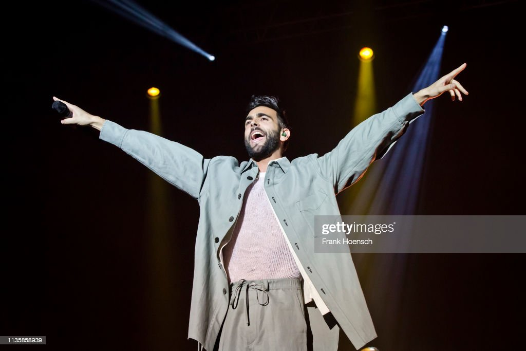 DEU: Marco Mengoni Performs In Berlin