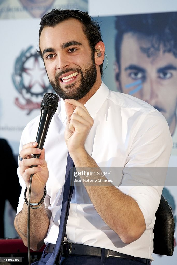Marco Mengoni Showcase in Madrid : News Photo