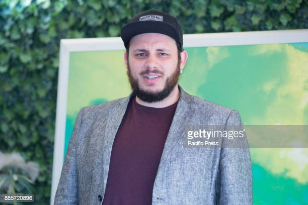 Italian singer Marco Zitelli during the Photocall of the Italian movie 'Il Premio' directed by Alessandro Gassmann at the Hotel Bernini Bristol in...