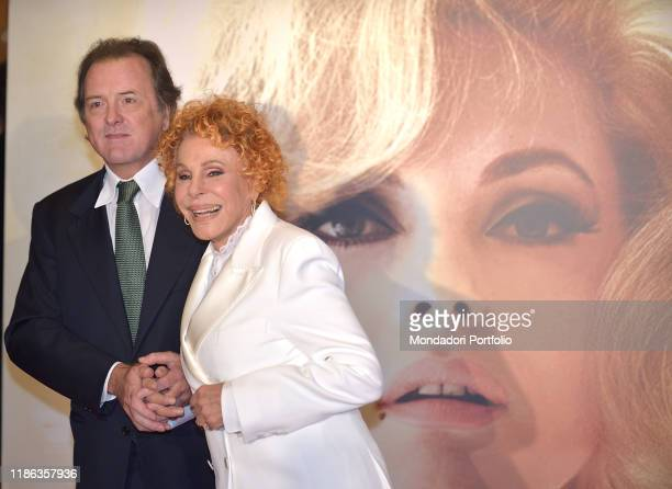 Italian singer Ornella Vanoni and Corrado Pesci participate in the fifth edition of the Virna Lisi award at the Auditorium Parco della Musicaon...