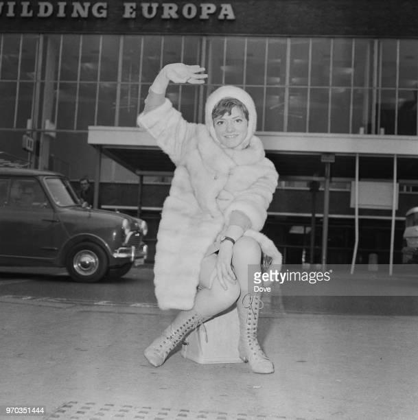 Italian singer Rita Pavone London UK 13th February 1967
