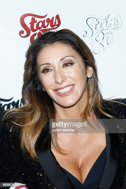 Italian singer Sabrina Salerno attends Stars 80 La Suite Paris Premiere at L'Olympia on December 5 2017 in Paris France