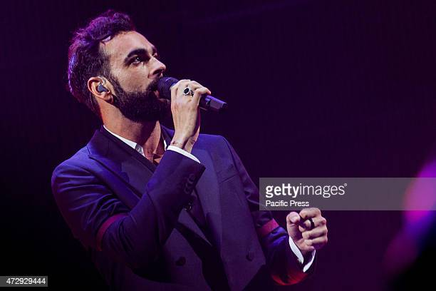 Italian singer songwriter Marco Mengoni performs in a live soldout concert at Pala Alpitour His latest album entitled Parole in circolo whence takes...