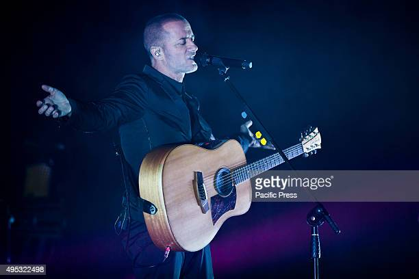 Italian singer songwriter Raffaele Riefoli aka Raf performed live with his Sono io tour at the Coliseum Theater