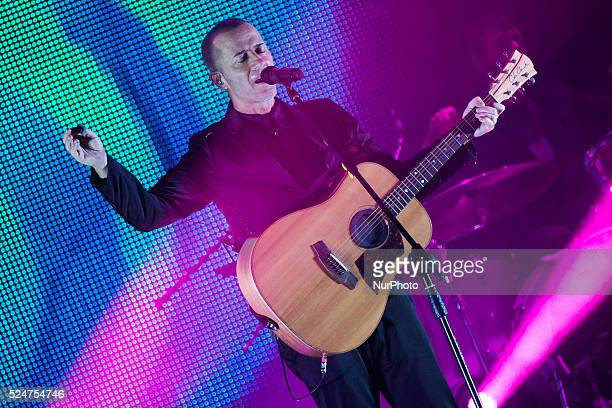 Italian singer songwriter Raffaele Riefoli aka Raf performed live with his quotSono io tourquot at the Coliseum Theater in Turin Italy on October 31...