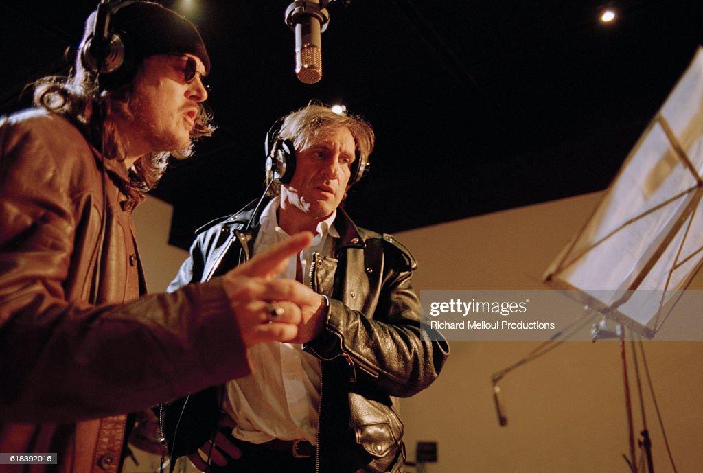 Gerard Depardieu and Zucchero : Photo d'actualité