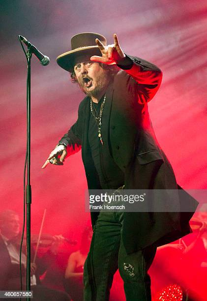 Italian singer Zucchero performs live during the Night of the Proms 2014 at the O2 World on December 18 2014 in Berlin Germany