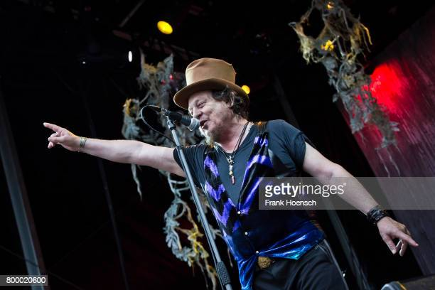Italian singer Zucchero performs live on stage during a concert at the Zitadelle Spandau on June 22 2017 in Berlin Germany