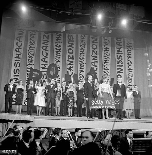 Italian singers Tony Dallara Flo Sandon's and Joe Sentieri Italian actors Aroldo Tieri and Lauretta Masiero Italian actor and presenter Alberto...