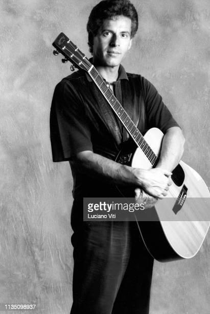 Italian singer-songwriter Claudio Baglioni, Rome, Italy, 1990.