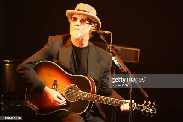 Italian singersongwriter Francesco De Gregori performs in Rome Italy 2014