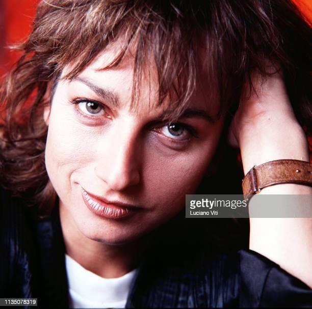 Italian singersongwriter Gianna Nannini Rome Italy circa 1982