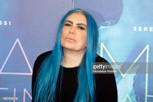 Italian singersongwriter Loredana Bertè at the press conference for the presentation of the film Io sono Mia dedicated to Mia Martini Milan January...