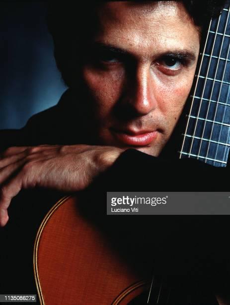 Italian singersongwriter Luca Barbarossa Rome Italy 1991