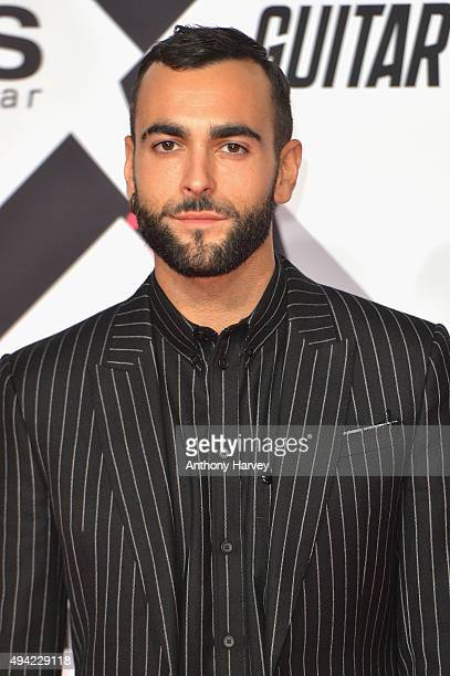 Italian singer-songwriter Marco Mengoni attends the MTV EMA's at the Mediolanum Forum on October 25, 2015 in Milan, Italy.