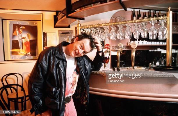 Italian singersongwriter Zucchero Fornaciari Riva del Garda Italy 1986
