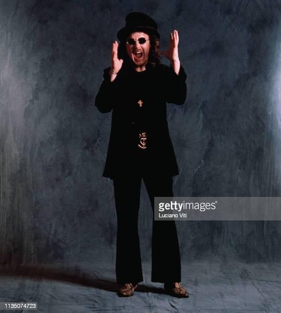 Italian singersongwriter Zucchero Fornaciari Rome Italy 1993