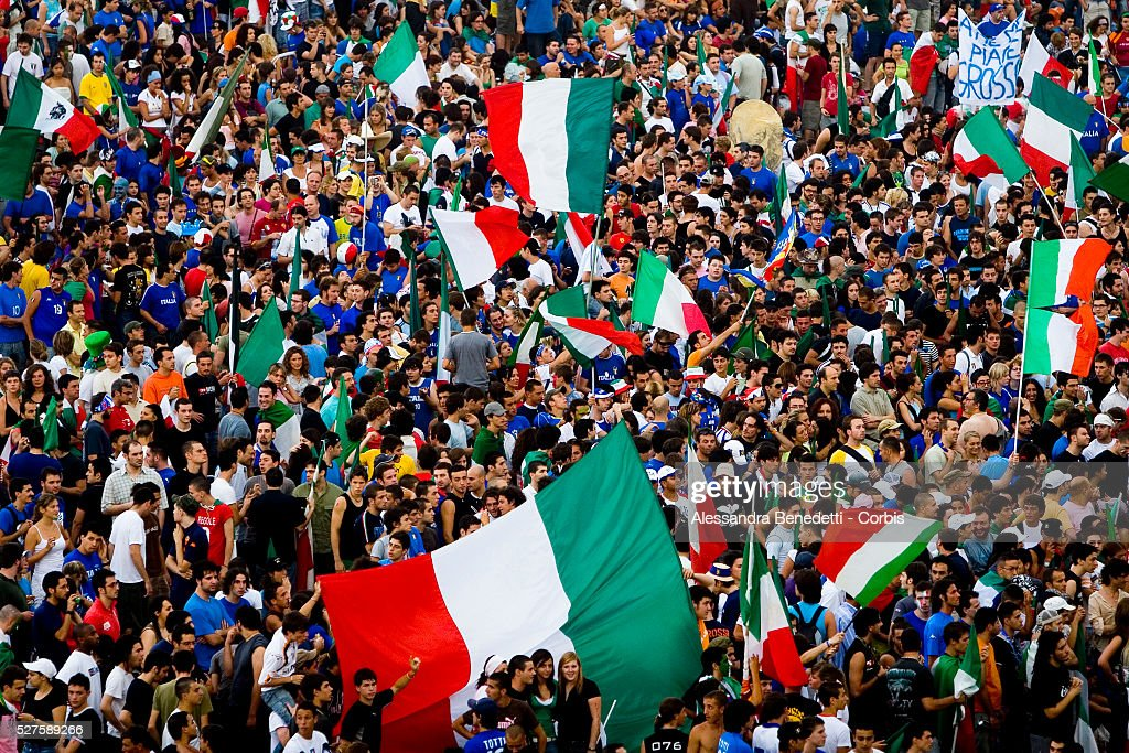 Soccer - FIFA World Cup 2006 - Finals - Italy vs. France : Photo d'actualité