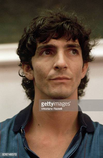 Italian soccer player Paolo Rossi.