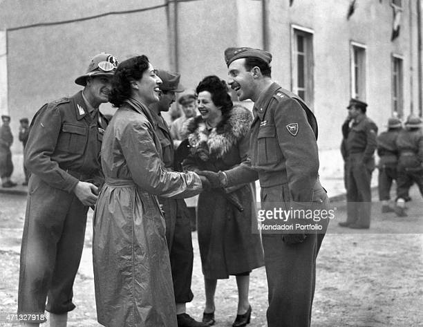 Italian soldiers going to leave toward Somalia Naples 1948