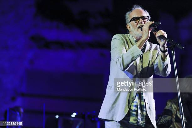 Italian songwriter Francesco De Gregori opens the summer season at the Terme di Caracalla with the first date of his tour De Gregori Orchestra...