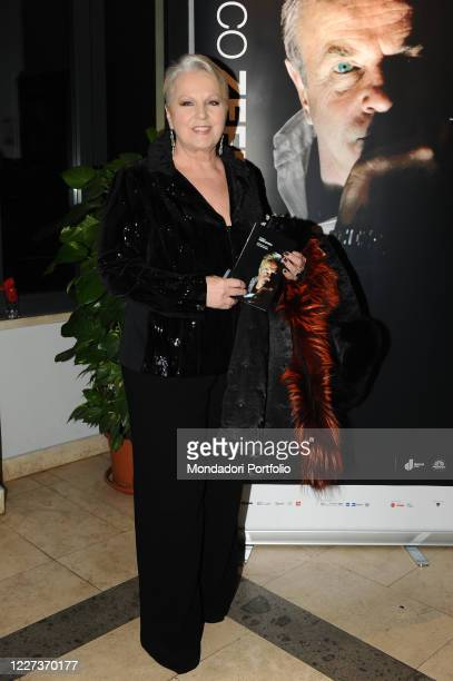 Italian soprano and actress Katia Ricciarelli at the Casa del Cinema for the XVI edition of the Rome Film Festival with an evening of honor and...