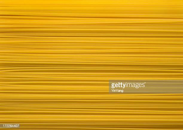 Italian Spaghetti Pasta  Dry Noodle Food Background Texture