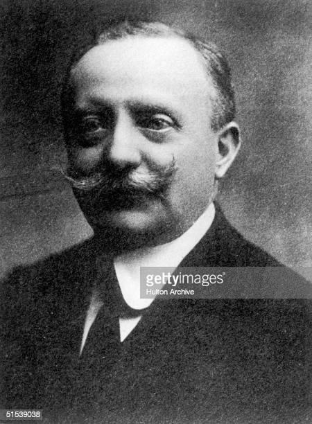 Italian statesman Luigi Facta the last prime minister of Italy before Mussolini came to power circa 1910