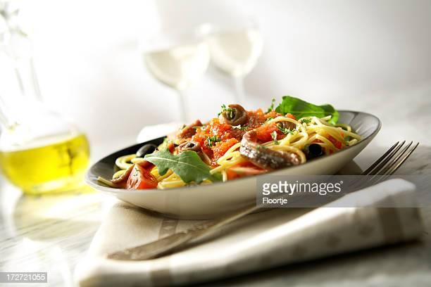 Italiano immagini: Spaghetti alla Puttanesca