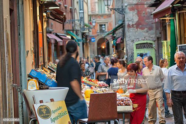 italian street life - bologna stock pictures, royalty-free photos & images