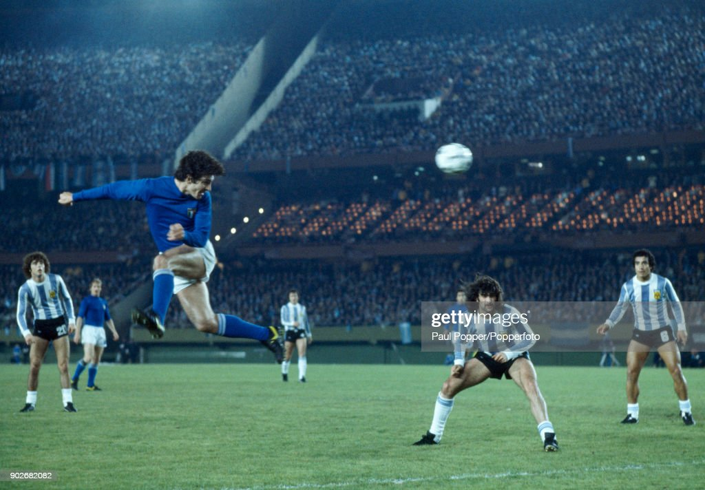 1978 FIFA World Cup - Argentina v Italy : News Photo