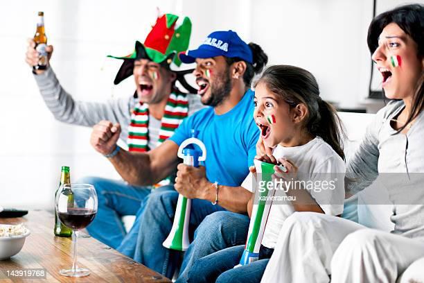 Italian supporters
