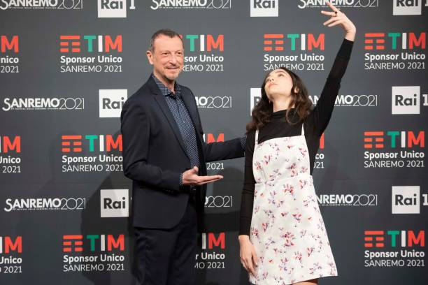 ITA: Press Room of the Sanremo Music Festival 2020 day 2